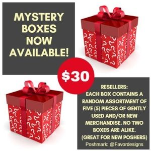 Reseller Mystery Box $30 ***PRICE IS FIRM.***